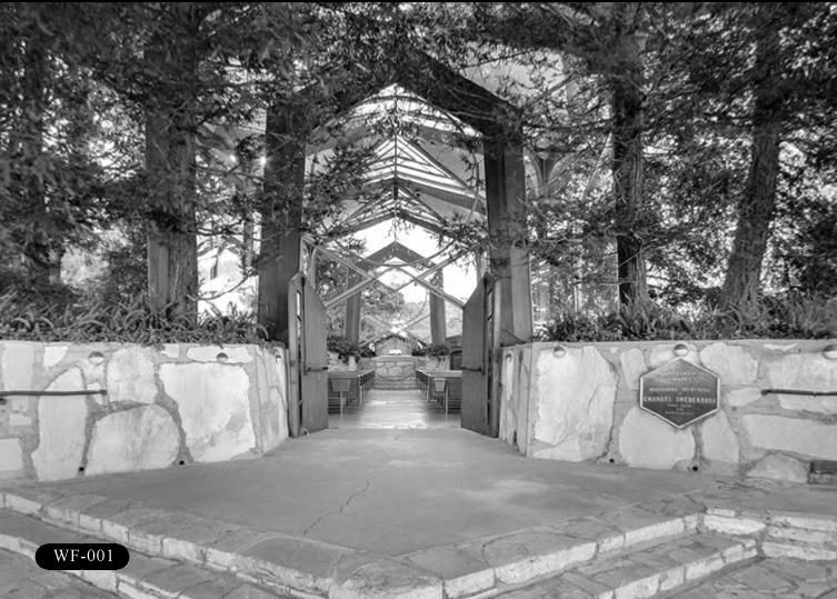 WF-001: Wayfarers Chapel, 5755 Palos Verdes Dr S, Rancho Palos Verdes, CA 90275.