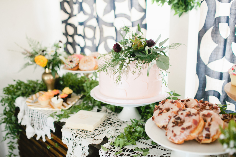 Natural boho girls party