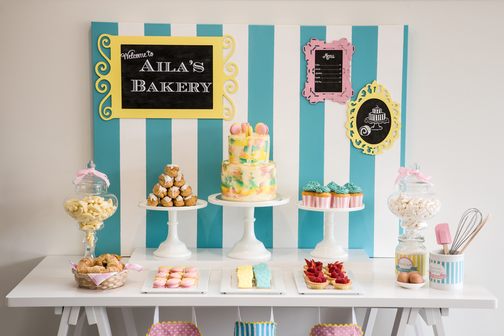 Bakery themed kids party — Something Wonderful Happened