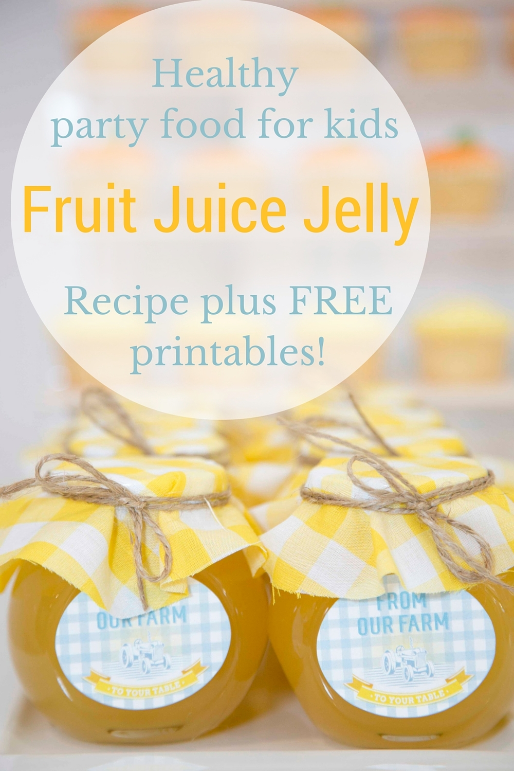 Healthy kid's party food by Something Wonderful Happened