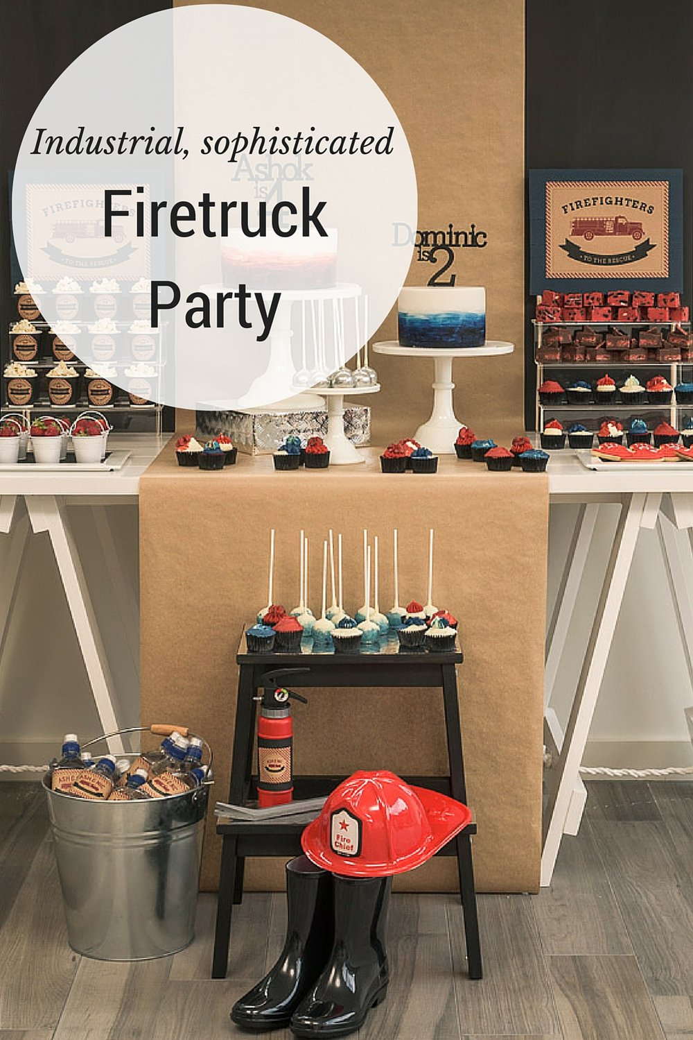 Firetruck party by Planner Something Wonderful Happened
