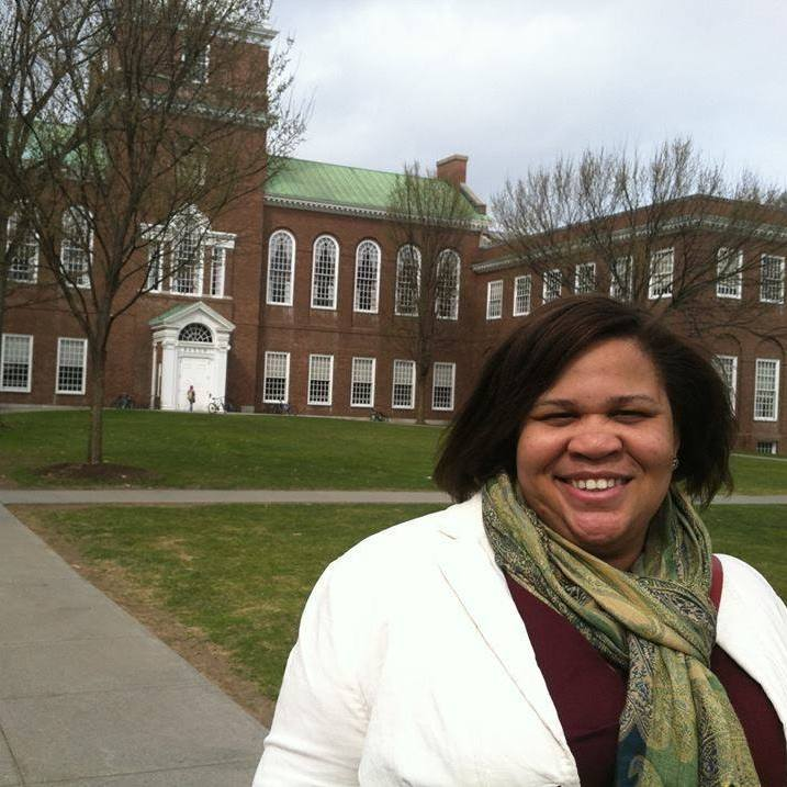 Latria at her alma mater, Dartmouth College