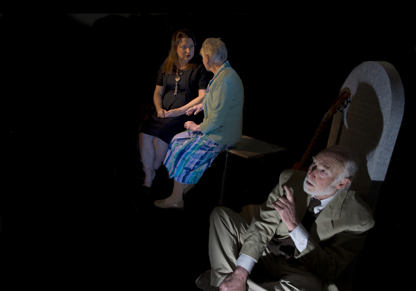 Belinda Winthrop, Susan Casey and John Piggott in 'Tuesdays Are For Bill'