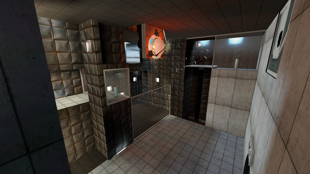 Portal Singleplayer Puzzle