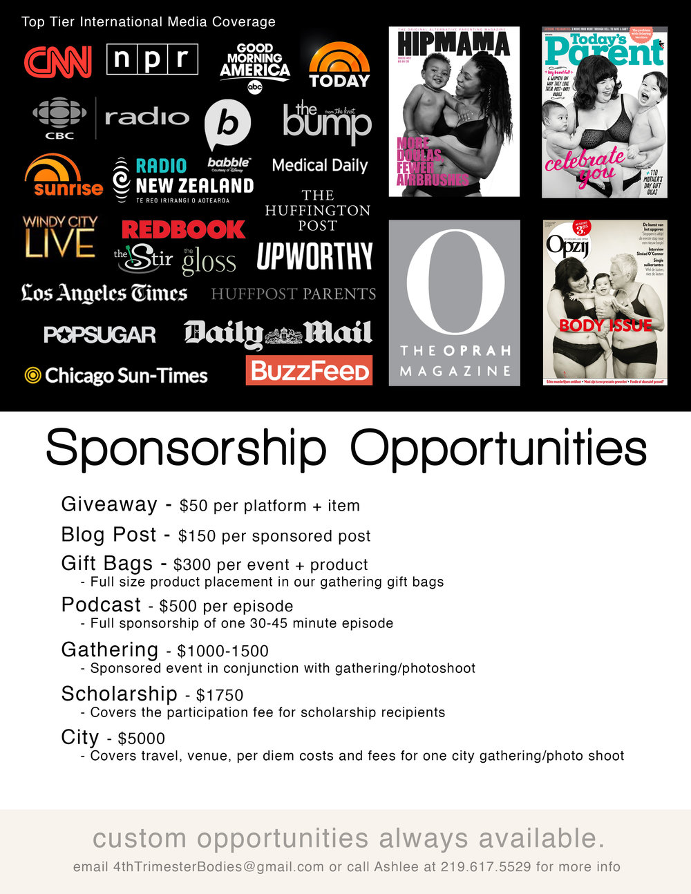 sponsordeck