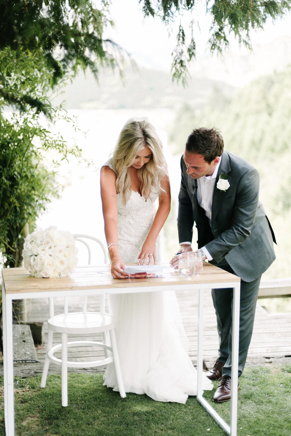 Hire the stylist ps i love you hire the florist flower room queenstown hire the stationary harlan creative