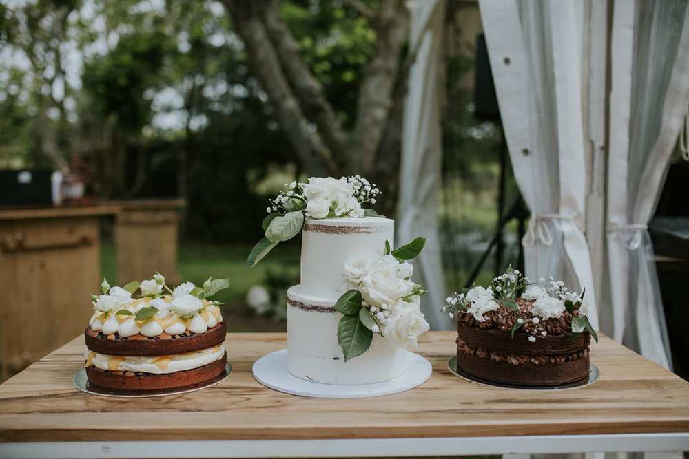 Wedding Marquee & Furniture Hire. Wooden Grazing Table at Reception, Tauranga.