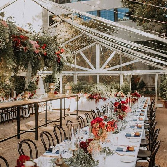 clear marquee hire | LL furniture hire