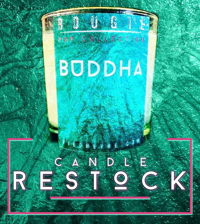 ReStock! We have our Buddha Candle back in stock! When we put it out last week it sold out in one day. So if you missed it, it's back!⠀ ⠀ #Bougie #candles #goatlife #homedecor #decor #natural #supportsmallbusiness #locallymade #locallysourced #artistsoninstagram #candlemaking #musthave #handmade #cherishBurg #harrisburgpa #creativeentrepeneur #plannthat #fomhbg #buddha #jasmine #sandalwood #patchouli #reincarnation