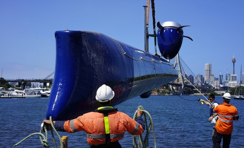 MAKO turbine being trialled in Sydney Harbour