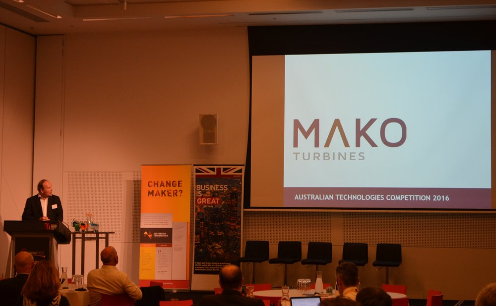 MAKO MD presenting at Australian Technologies Competition