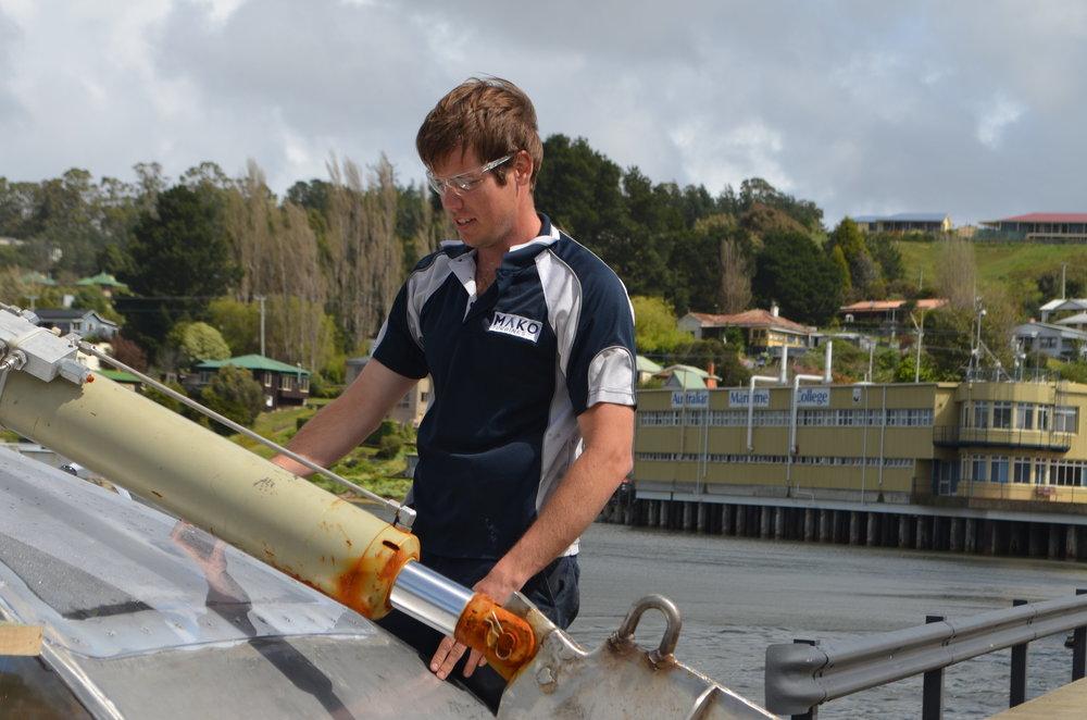 Collaborative tidal turbine research with the Australian Maritime College (AMC)