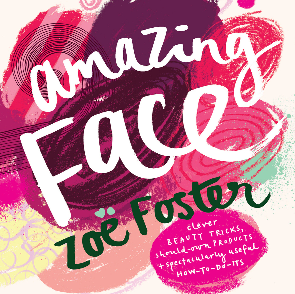 One of Zoë (many!) best selling books, 'Amazing Face'