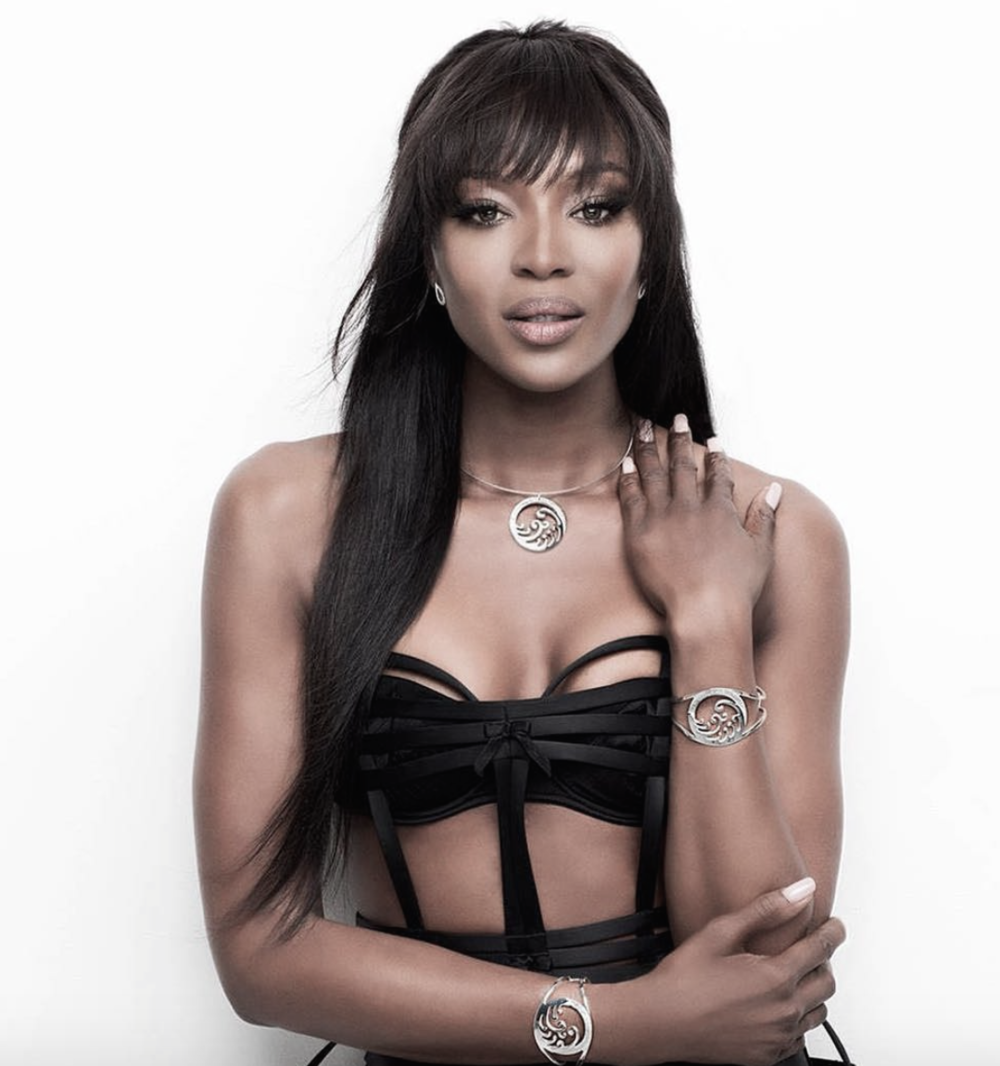 Naomi Campbell request's Stoj's magic on set & for events.