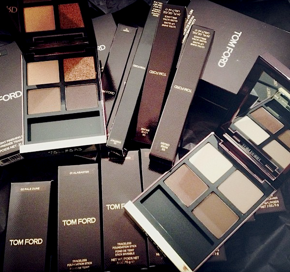 Tom Ford; Stoj's tool's of the trade!
