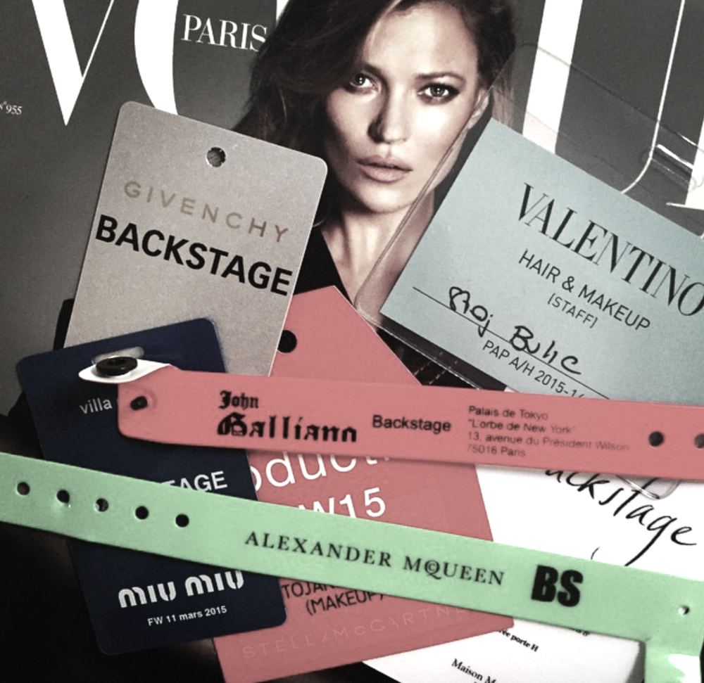 ACCESS ALL AREAS; Passes from Paris Fashion Week