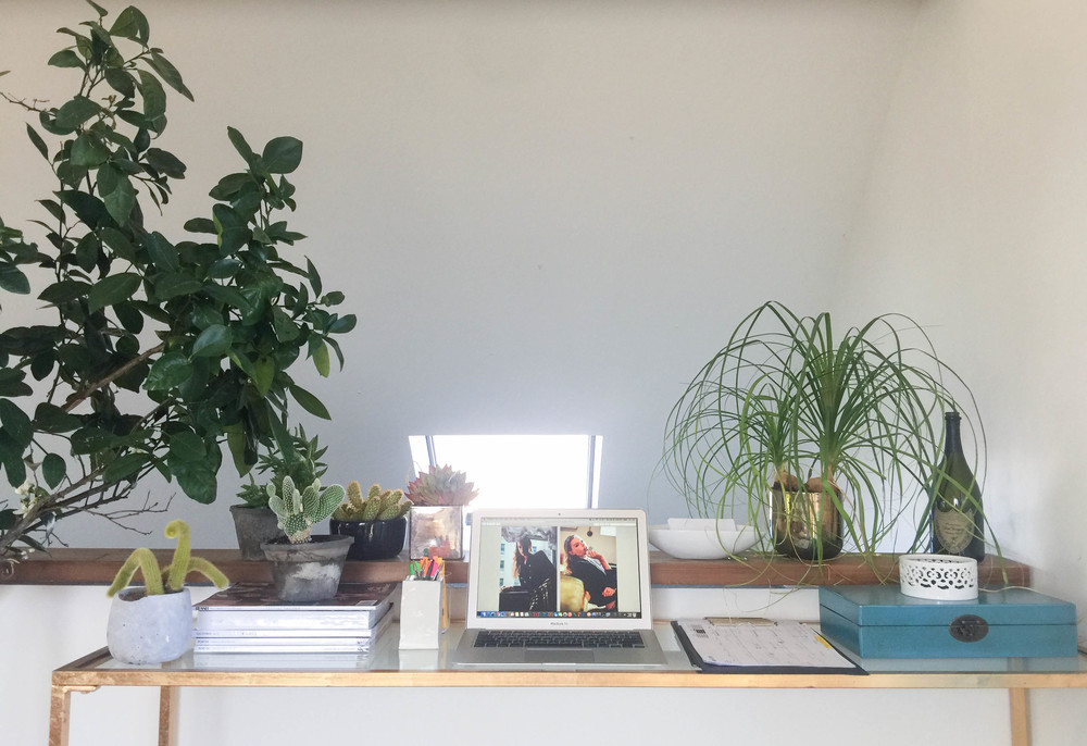 Sybill's Montauk workspace.