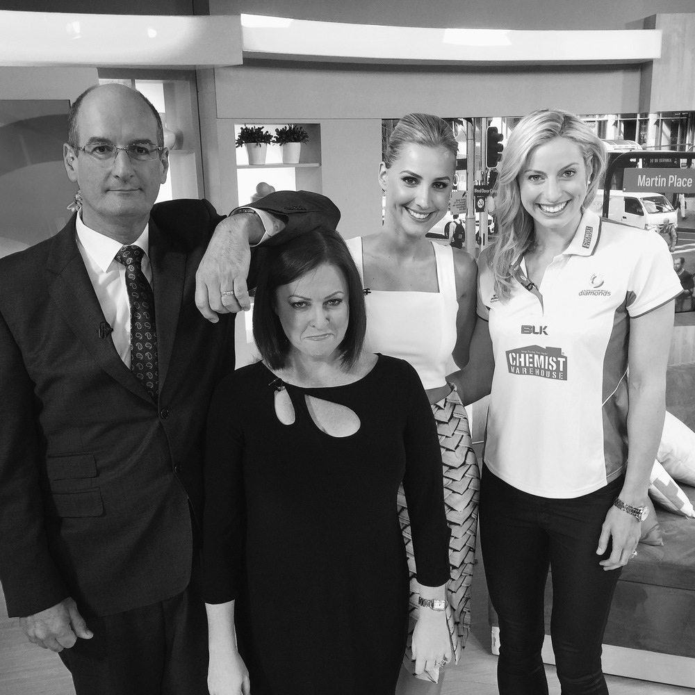 ON SET WITH KOCHIE'S ANGELS.