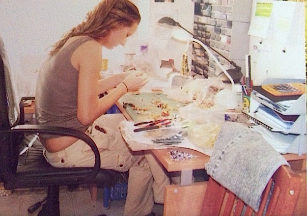 Me in 2004, in my dining room in Kensington, Sydney.