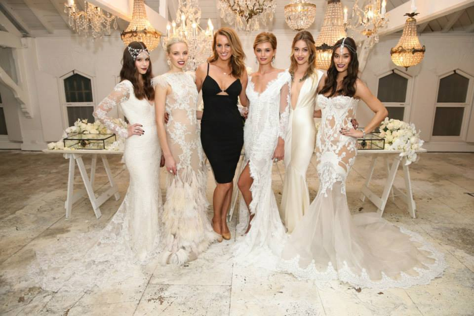 At the launch of our SAMANTHA WILLS BRIDAL collection, in Sydney Australia. Image by Scott Ehler.