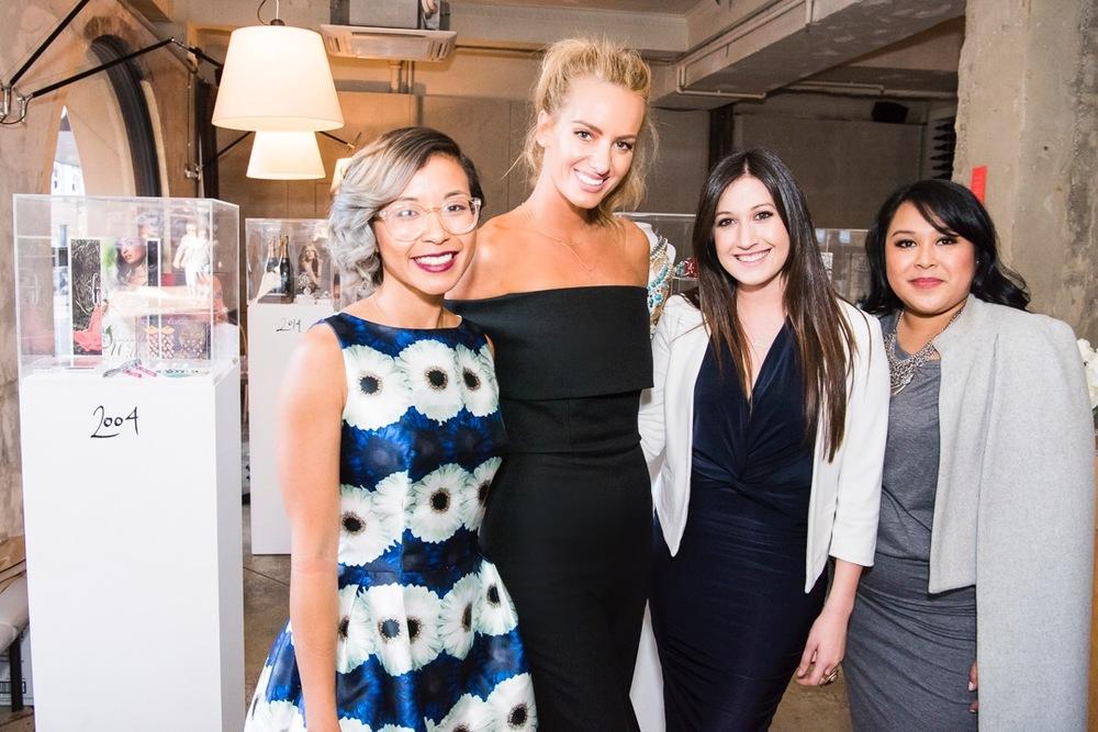 With the amazing OPTUS Marketing team; Caro, (me), Kayla, Tanya.