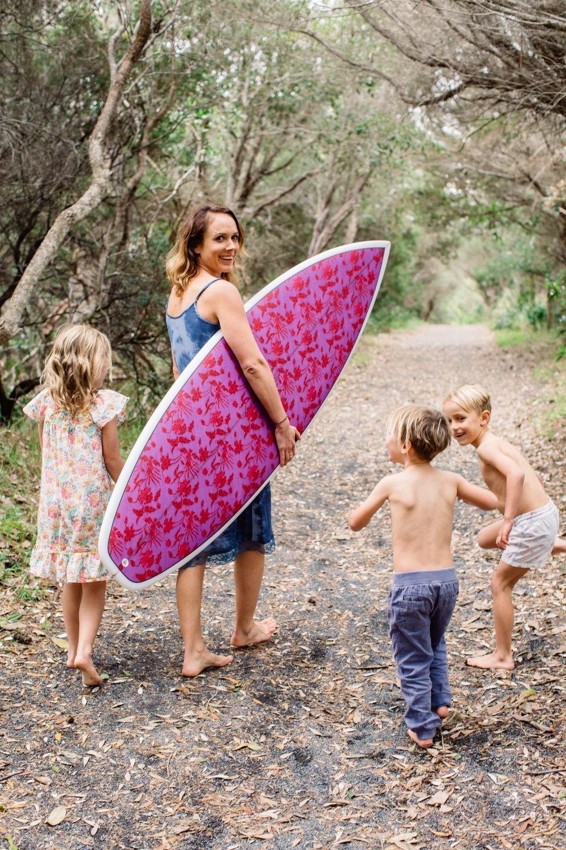 FOUNDER + DESIGNER OF NUSA INDAH SURFBOARDS; Jada McNeil (and her tribe!)