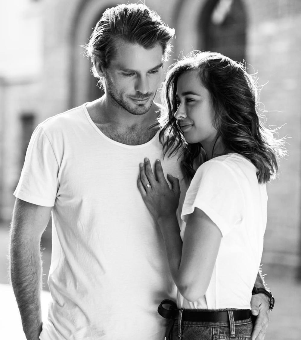 Eleanor & fiancé,Mathew.