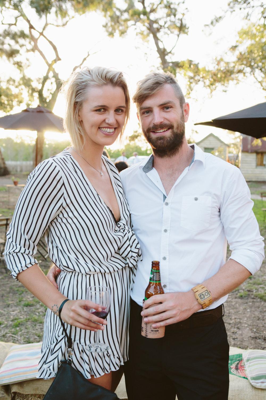 Kate & her Partner Tim.