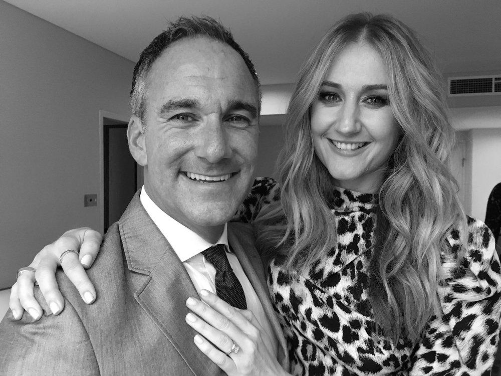 Alice, & fiance Chris Princis
