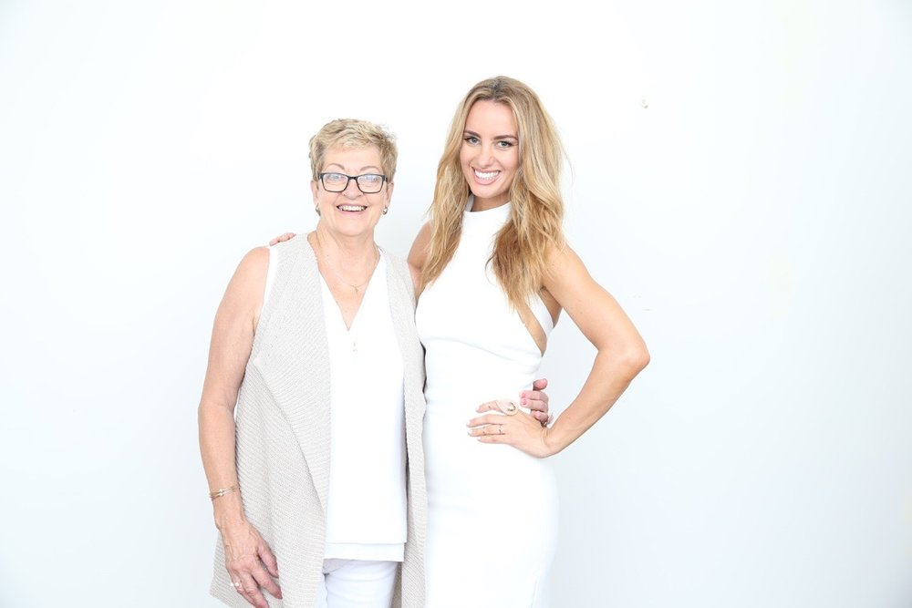Mum & I, photographed for the McGrath Foundation Mothers Day campaign in 2016.  Image by Scott Ehler.