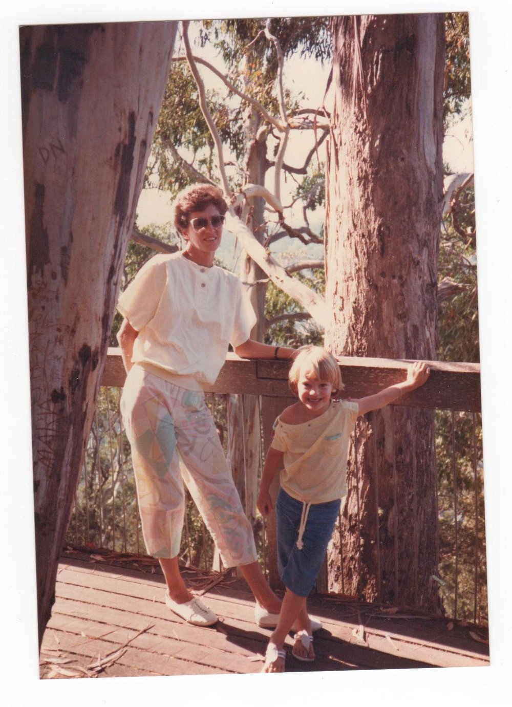Mum & I in the 80's - obviously.