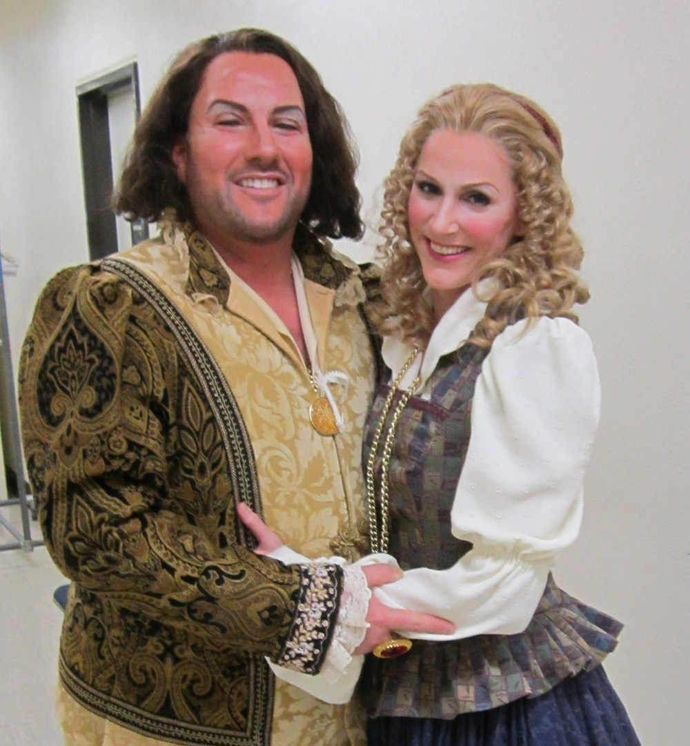 "With tenor Scott Ramsay at Sacramento Opera's ""Rigoletto"""