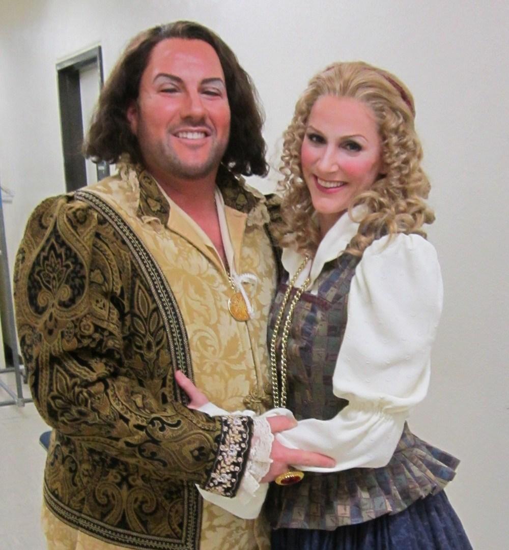"With tenor Scott Ramsay at Sacramento Opera's ""Rigoletto"""
