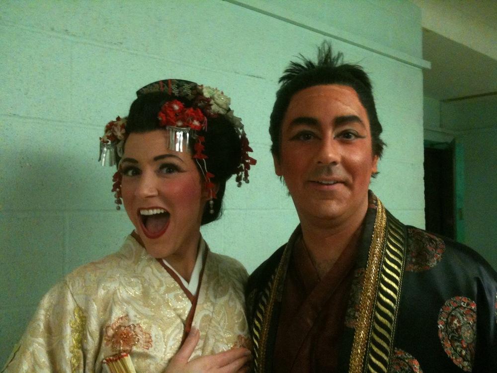 "Yum-Yum and Ko-Ko at Syracuse Opera's ""The Mikado"""