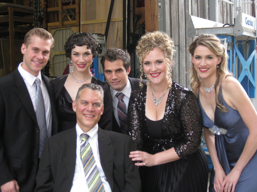 "The cast of ""We Open in Paris"" at Glimmerglass Opera"