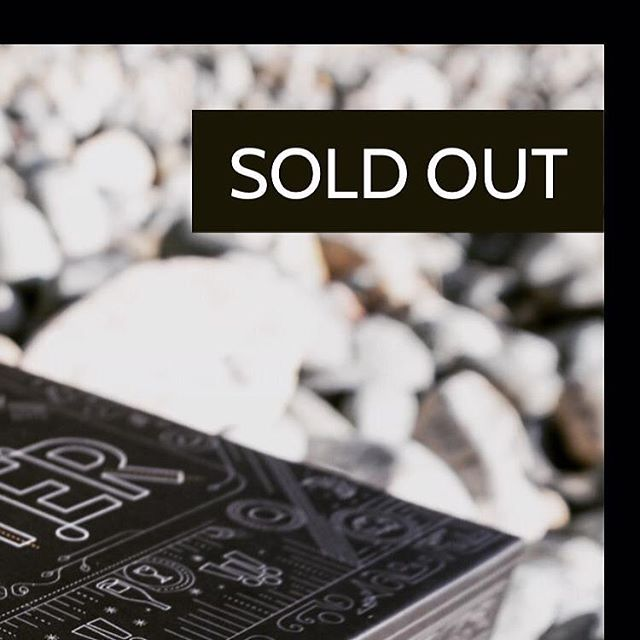 BIG NEWS: Exactly one year ago, we hit our fundraising target on Kickstarter. And today, we have completely sold out of FLUSTER decks for online sales! Thanks for taking us so far in one short, wild year. While we're out of stock, you can still find Fluster in lots of stores. There's a list on our website. . . . #getflustered #flusterlife #vancouver #kickstarter #games #cardgames #soldout