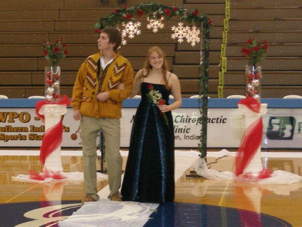 This was me dressed to impress at homecoming 2010. *Photo courtesy of Mallory Pleiss (now Murphy!)