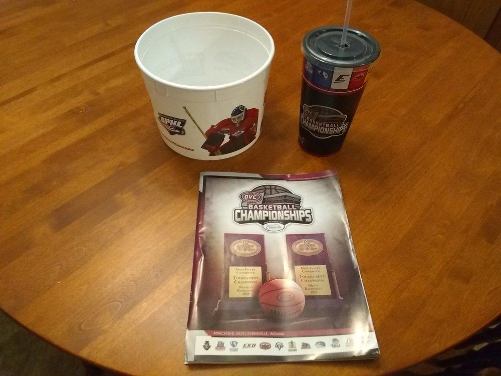 Cup, bucket, brochure.jpg