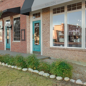 The Huetiful Salon DFW is located at              2410 W. Abrams St. 100,                   Arlington, Texas 76013  Original Photo from Huetifulsalon.com