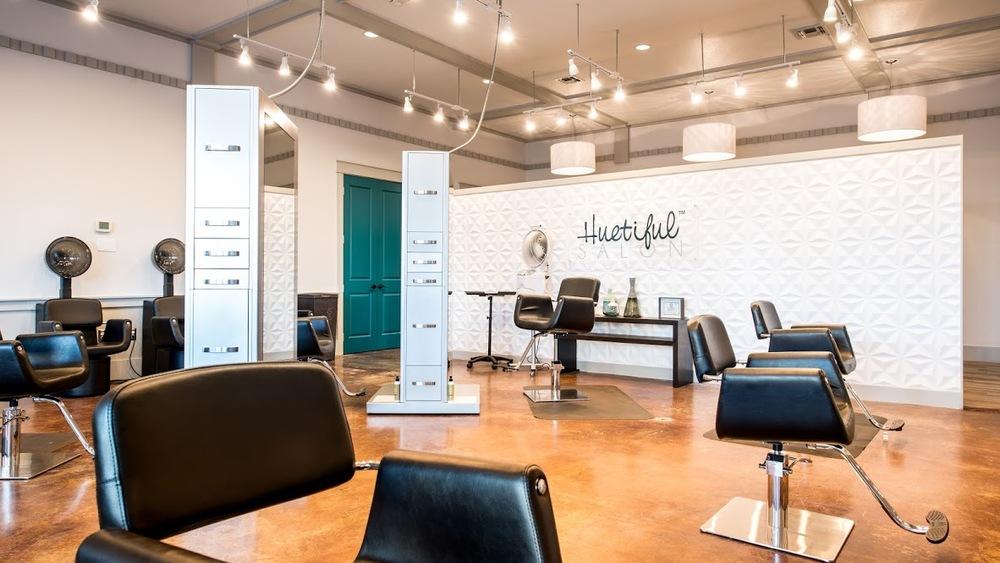 After Photos of the Huetiful Salon  Original Photo from Huetifulsalon.com