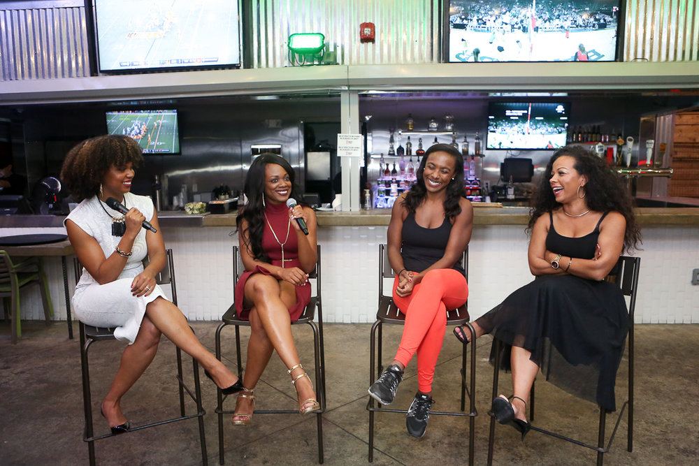 How to Quit Your Job Panel: Courtney Sanders of Think and Grow Chick, Dee Cox, Brittani Rettig, & Danielle Murrell