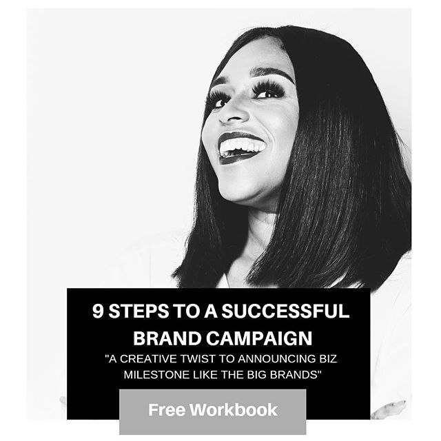 [FREE WORKBOOK]  Who doesn't like the word FREE. We created a free workbook to help you create brand campaigns. WE GAVE YOU 9 STEPS to show you how to create a successful brand campaign. . .  THAT'S A LOT OF FREE INFORMATION. . . CLINK LINK IN BIO to download and get started today.  WE CARE ABOUT YOUR STORY AND CAN'T WAIT TO HEAR IT!
