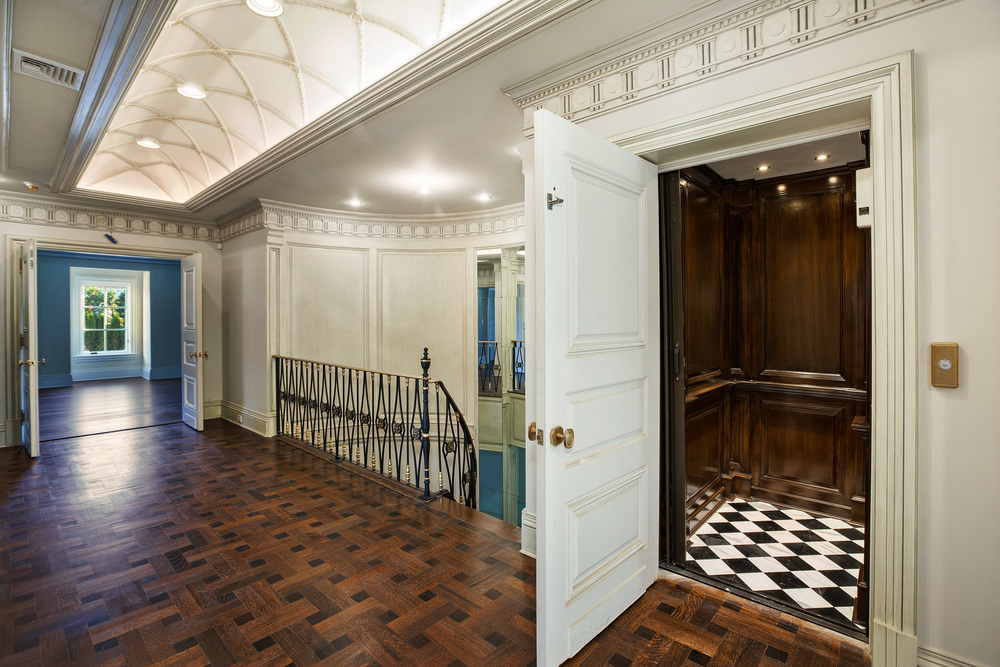 Elevator & Bedroom Wing