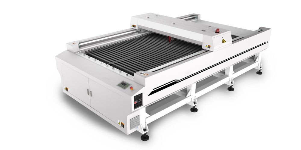 SP-250013S &SP-250013SM - The SP-250013S is our largest CO2 laser ideal for sheet material. The open bed design allows for Easy loading of standard materials.