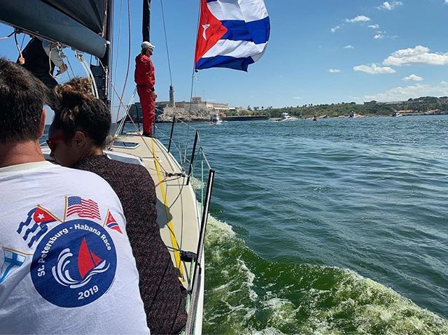 It was a privilege to sail aboard #FreshPineapple... and into #Havana #harbor!... in the Chorrera Fortress Regatta a couple of weeks ago. #sailfast