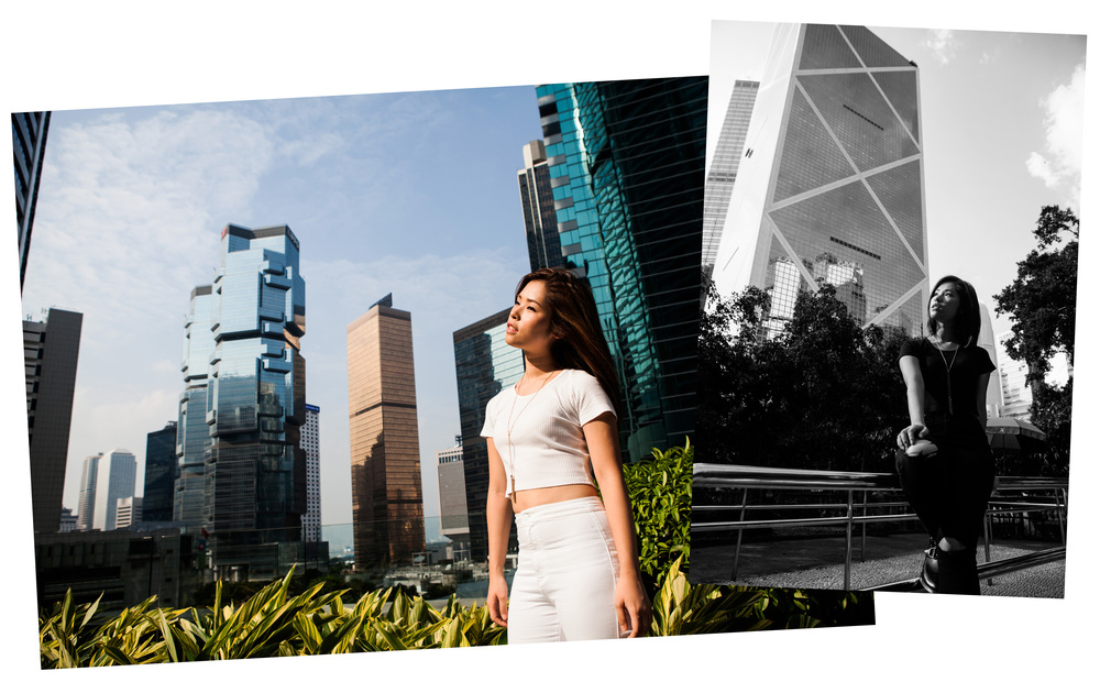 Sophy Kayee Wong shot by Brian HK Chan in Hong Kong for Rhea Magazine