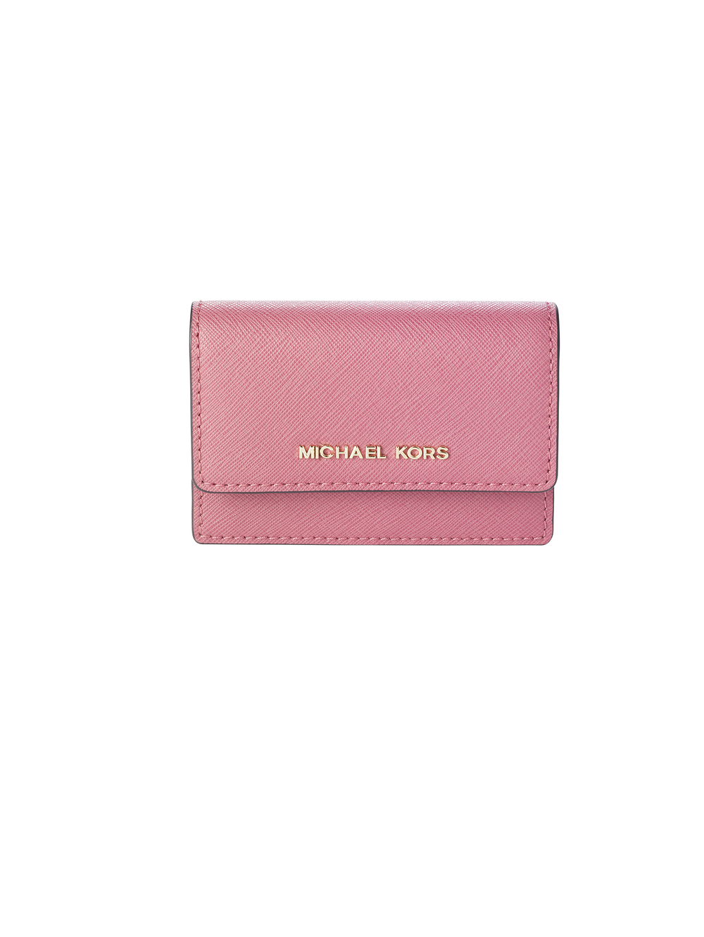 Daniela Saffiano Leather Card Holder