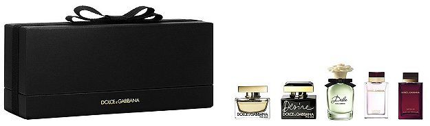 Dolce and Gabbana Miniatures Gift Set