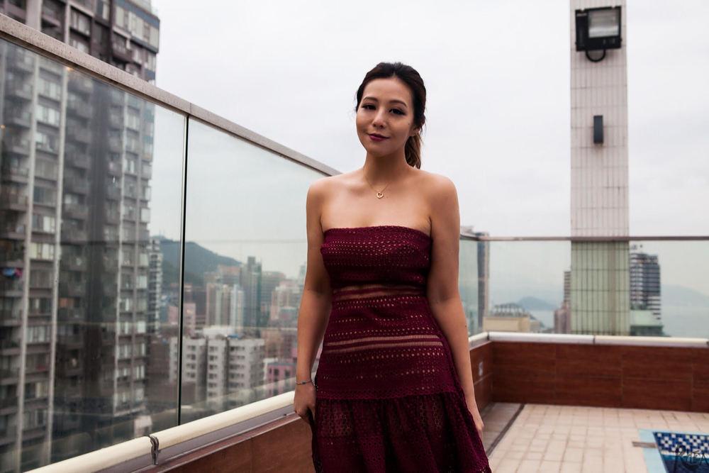 Karina Ha shot by Brian HK Chan for Rhea Magazine