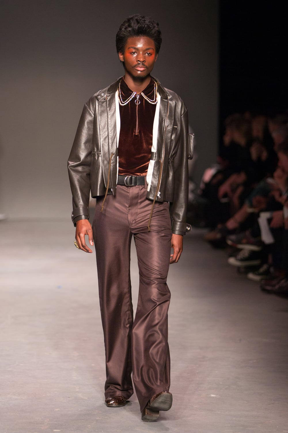 Wales Bonner at MAN AW16 Show, London Collections Men
